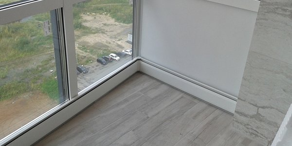 Подходит для отопления помещений с панорамными окнами